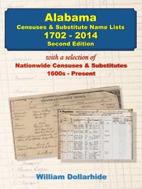 Alabama Census & Substitute Name Lists, 1702-2014